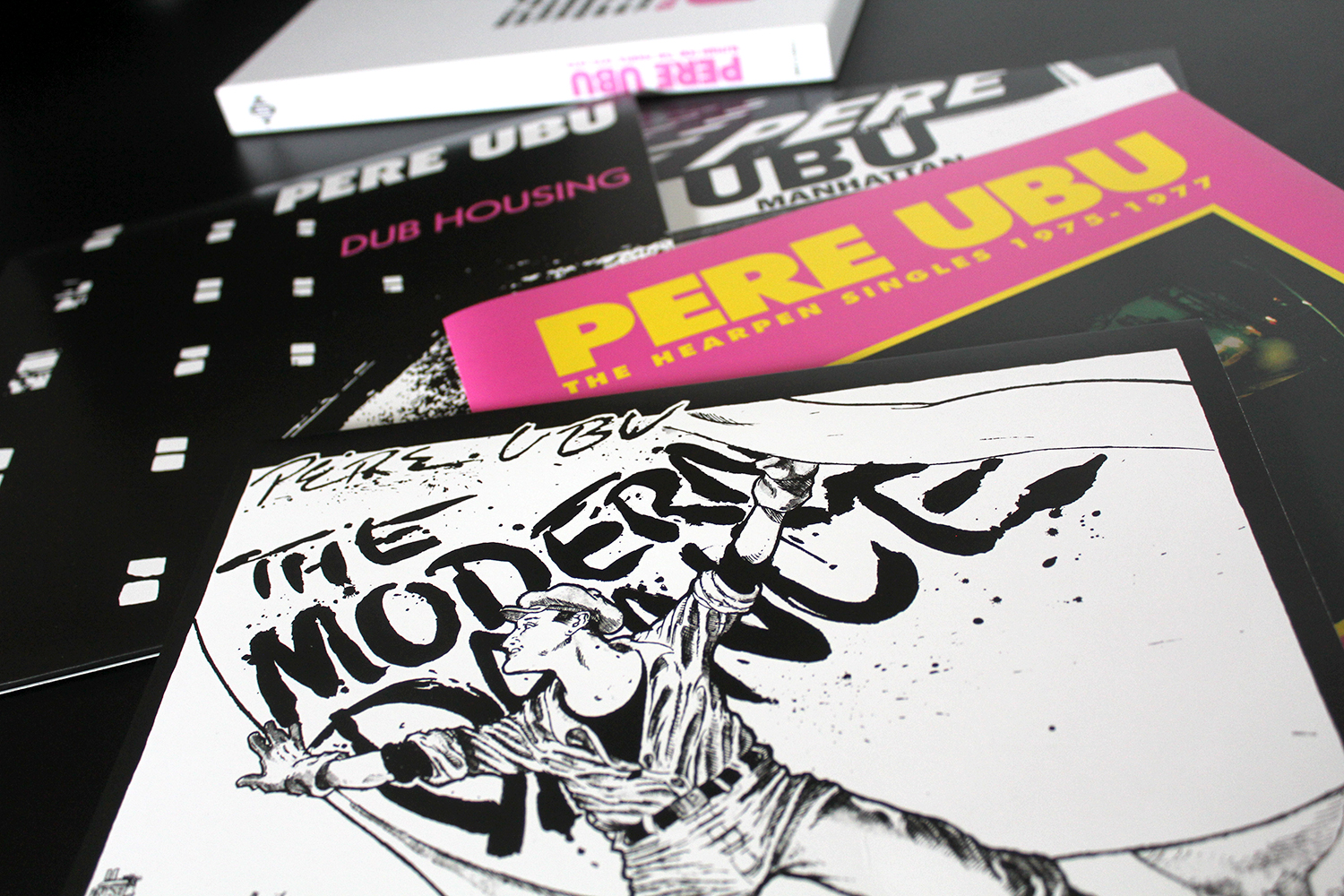 Pere Ubu Elitism For The People 1975 1978 Lp Box Set