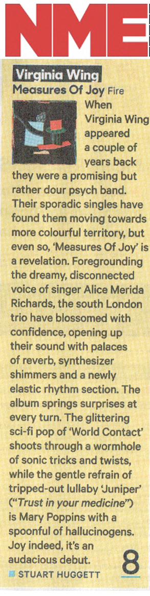 V Wing Nme Review Fire Records