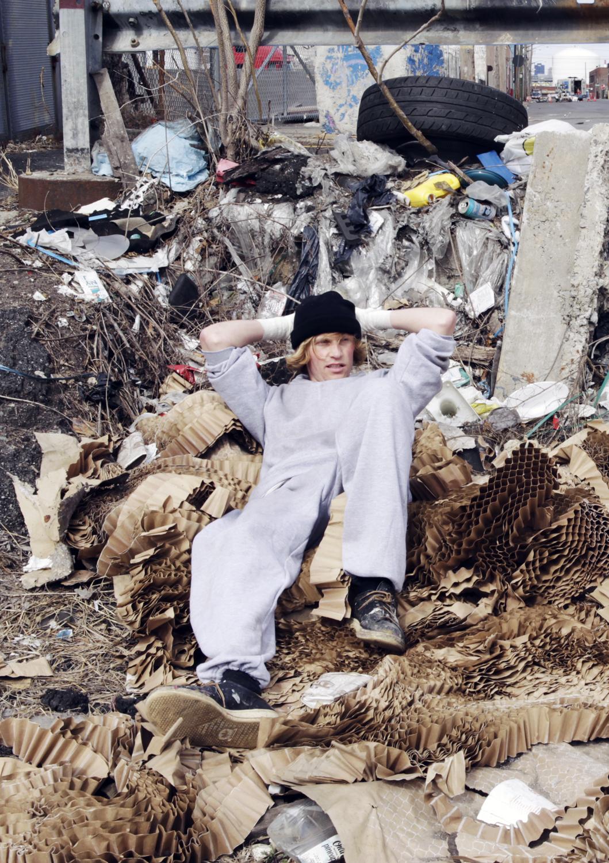 Dermo Ny Trash Heap Portrait Fire Records